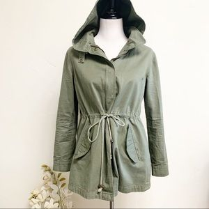 Angl Utility Army Green Jacket